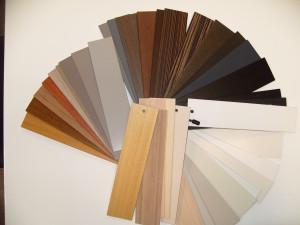 żaluzje drewniane paleta1
