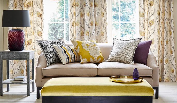 Tkaniny dekoracyjne James Hare Katowice
